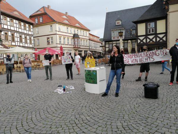 Ruth Fiedler Sprecherin Bündnis Bunter Harz
